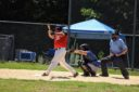 Paul Burmeister hitting against the Rebels 7/26/2020
