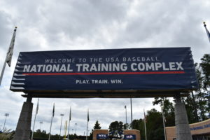 USA Baseball National Training Complex in Cary, NC