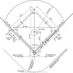 regulation baseball field dimensions