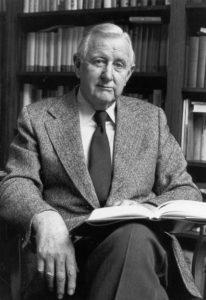 C. Vann Woodward. Photo courtesy Yale University